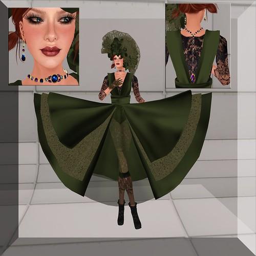 Sophisticate [Olive] by ElaraGloriana Scrabblebat