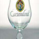 ベルギービール大好き!!【コルセンドンクの専用グラス】(管理人所有 )