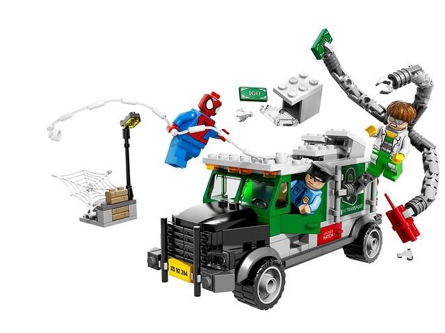 LEGO Super Heroes Marvel 76015 - Doc Ock Truck Heist