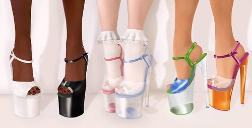 ♡Bubbles Heels♡ by Eilfie Sugarplum