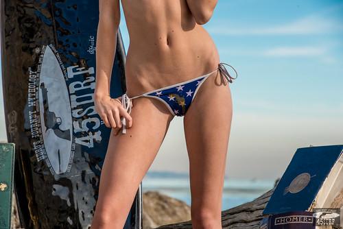 Tall, Pretty Model! Nikon D800E Photos Pretty Blond Swimsuit Bikini Model @ 45SURF! Gorgeous Blue Eyes!
