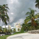 South Beach sidewalk