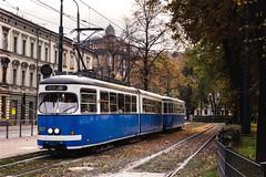 El tranvía azul.