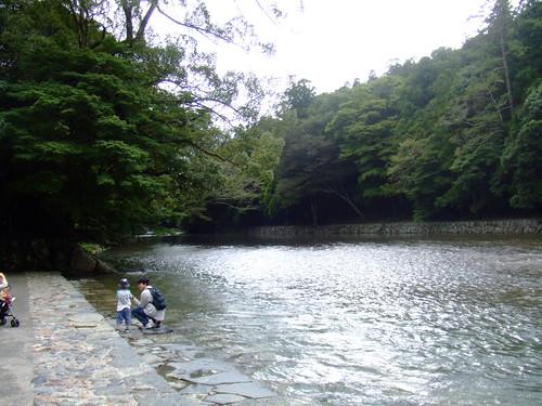 内宮・五十鈴川1