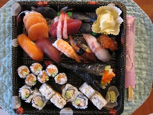 // les sushis du samedi