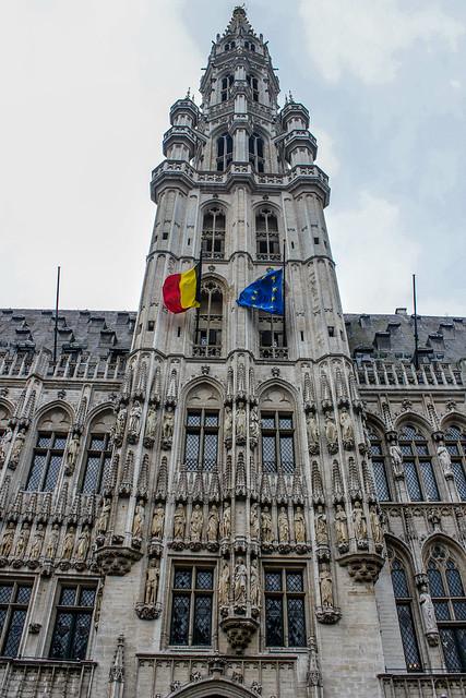 Ayuntamiento de Bruselas, capital de Bélgica