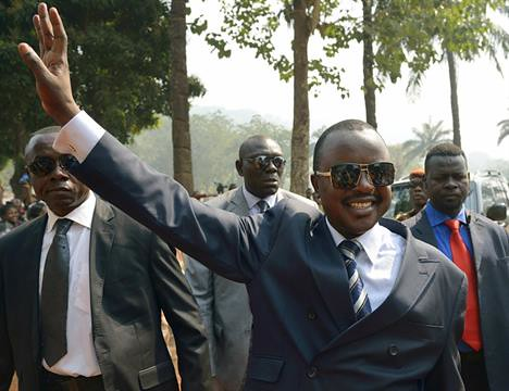 Central African Republic interim leader Alexandre-Ferdinand Nguendet. He has vowed to implement a crackdown on violence in the country. by Pan-African News Wire File Photos