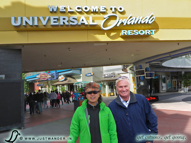 PIC: Welcome to Universal Orlando Resort sign