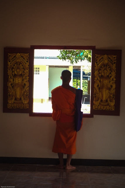 Contemplation in Mae Hong Son, Thailand