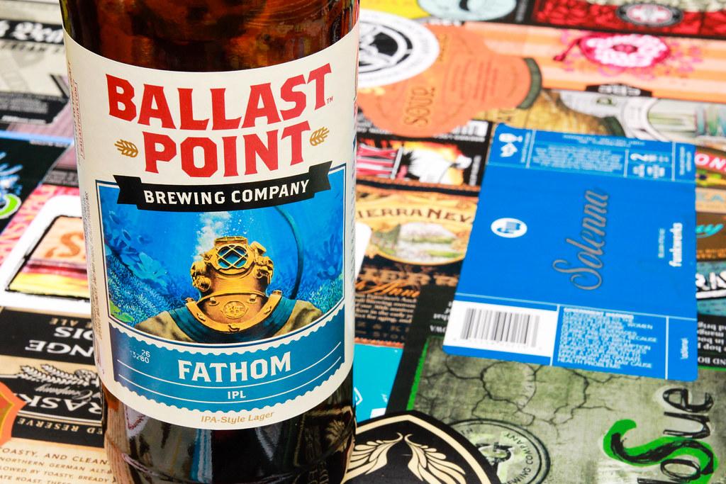 New Brew Thursday : Fathom IPL : Ballast Point Brewery