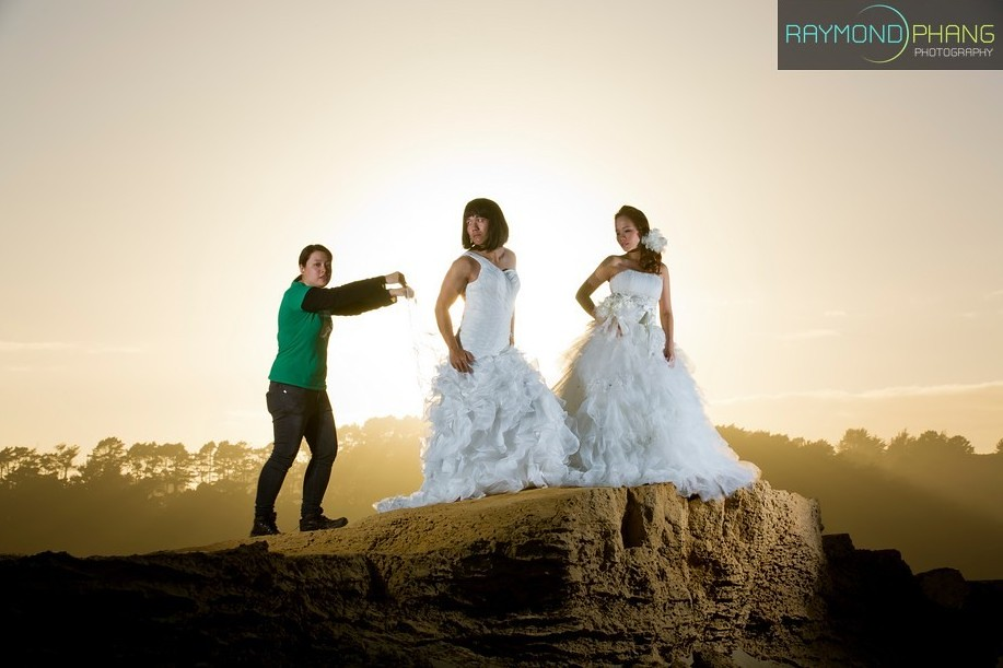 Conceptualised Pre-Wedding Behind the Scene in New Zealand - 03