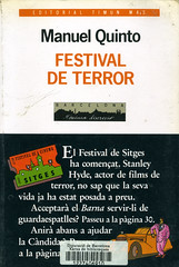 Manuel Quinto, Festival de terror