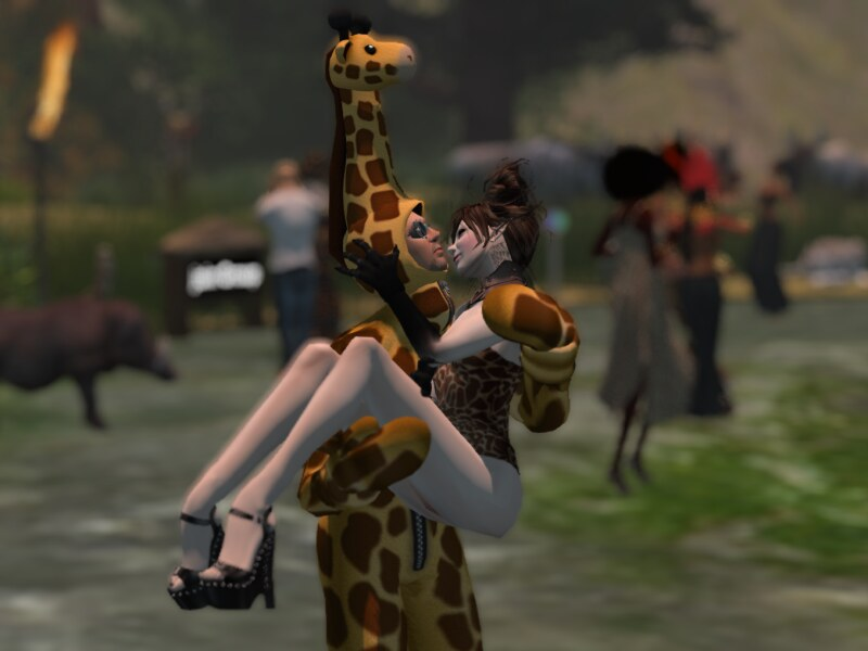 Me and my....Giraffe