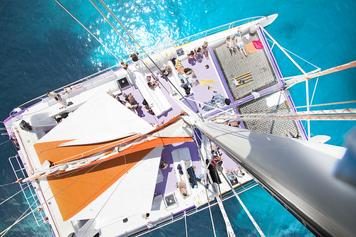 2014 Paseo en catamaran