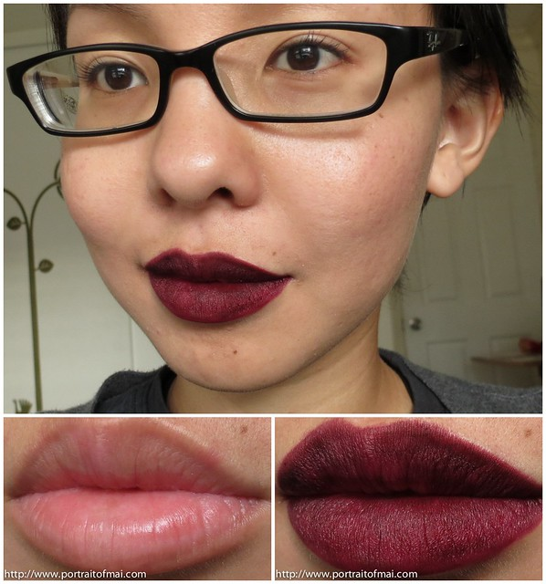 occ cosmetic colour pencil black dahlia swatch