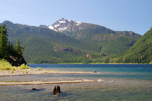 Mount McBride, Strathcona Provincial Park, Central Vancouver Island, British Columbia, Canada