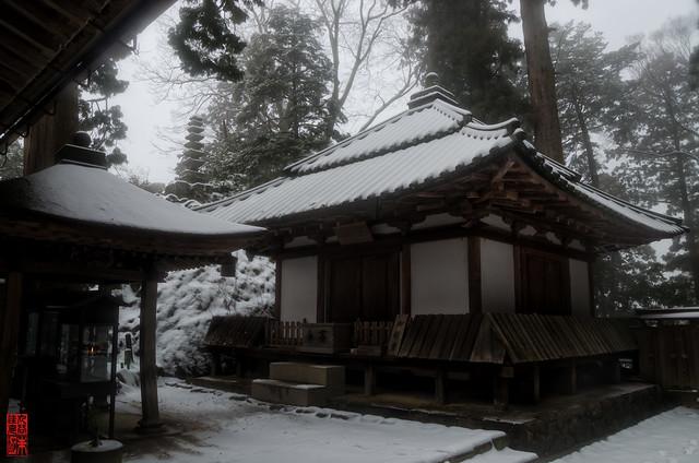 「雪の御影堂」 室生寺 - 奈良