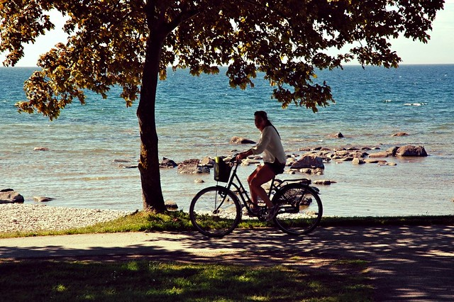 Biking in Gotland