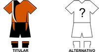 Uniforme Selección Ybyyauense de Fútbol