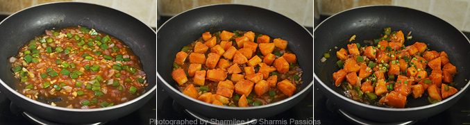 How to make idli manchurian - Step5
