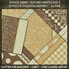 Clutter for Builders - Seaside Fabric Textures Whitesand II