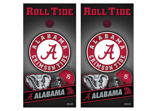 Alabama Cornhole Game Decal Set