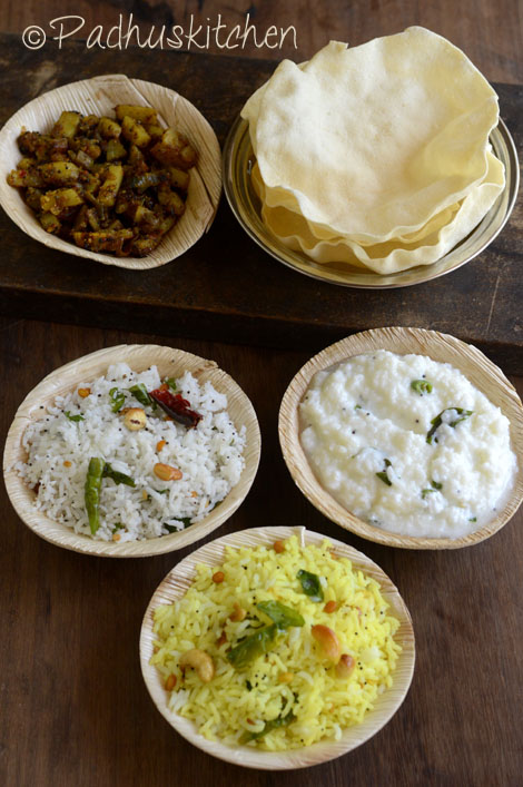 South indian variety rice lunch menu ideas easy variety rice lunch south indian variety rice forumfinder Choice Image