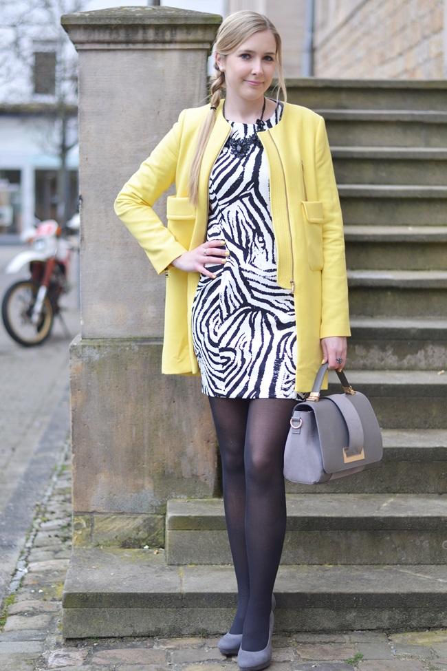 Aufs Zebra gekommen Kleid (3)