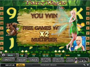 Fairy Magic Free Spins