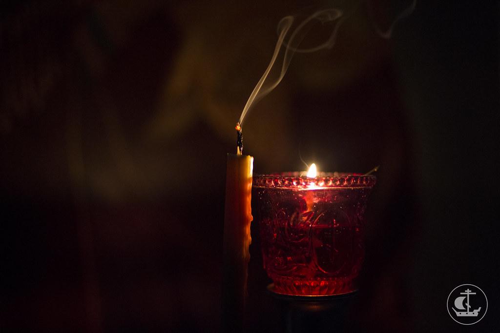 5 марта 2014, Великое повечерие в среду первой седмицы Великого поста / 5 March 2014, The Great Compline on Wednesday of the first week of Lent