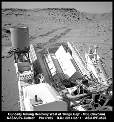 Curiosity Making Headway West of 'Dingo Gap'