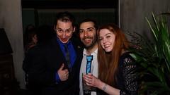 John, Omar and Jenny