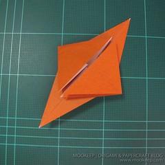 วิธีพับกระดาษเป็นรูปหมี (Origami Bear) 002