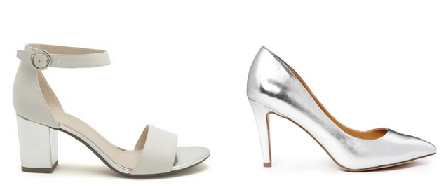 Daisybutter - UK Style and Fashion Blog: the metallic shoe trend