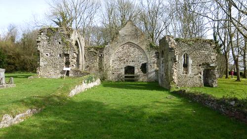 150 Église en ruines Saint-Thomas de Lithaire