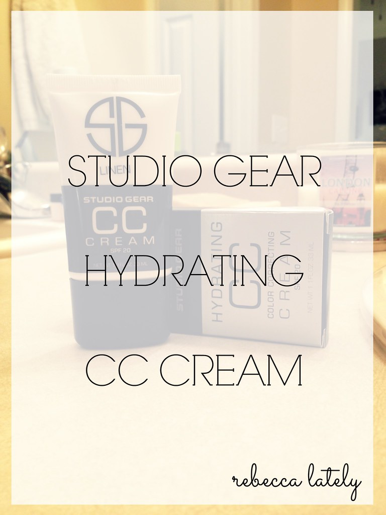 Studio Gear CC Cream !