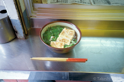 玉子焼そば / Okinawan noodle with rolled egg