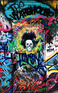 Basquiat Skull by TOVEN