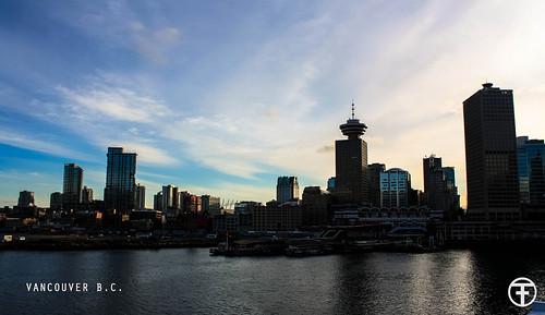 city canada vancouver sunrise downtown cityscape bc britishcolumbia
