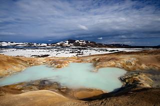Krafla Hot spring