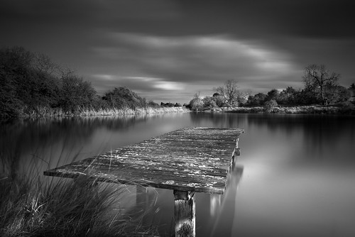 uk longexposure england blackandwhite bw lake landscape nikon flickr creativecommons photoaday mooring essex pictureaday d800 uttlesford project365109 chickney flickriver markseton project365190414