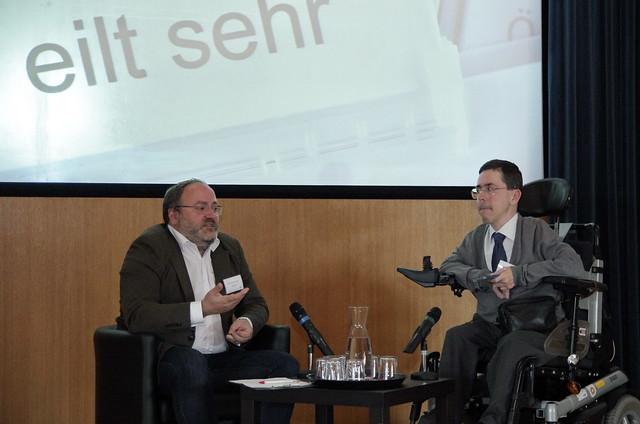 Dieter Schindlauer und Martin Ladstätter (Doppel-Conférence)