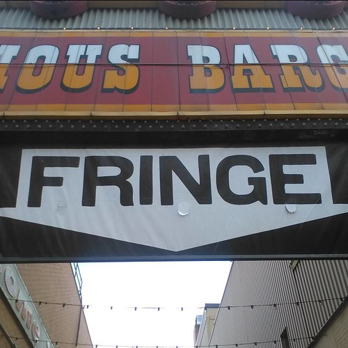 Welcome to the Alley #toronto #fringeto #thealley #honesteds