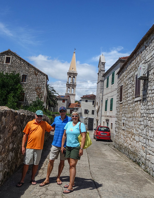 Walking around Stari Grad