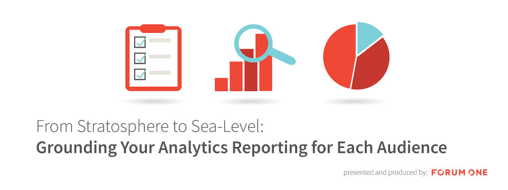 Grounding your analytics reporting for each audience