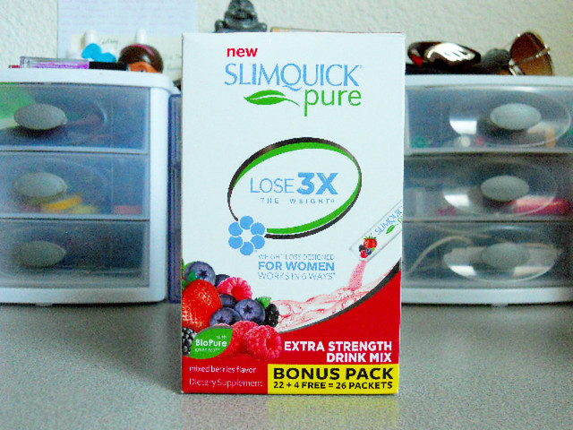 SLIMQUICK Pure Extra Strength Drink Mix 2