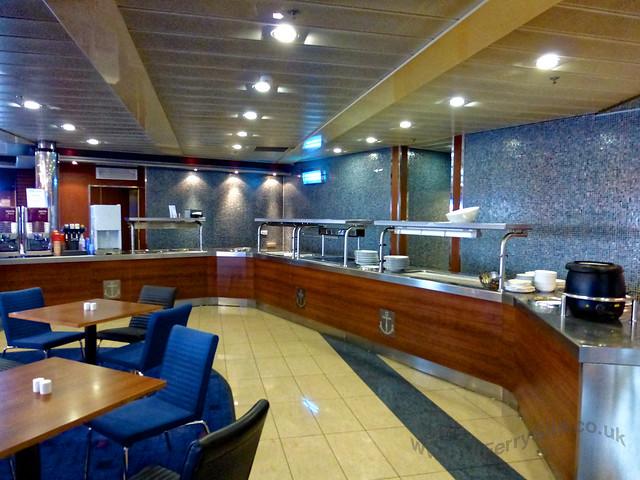 Stena Mersey - Freight drivers restaurant.