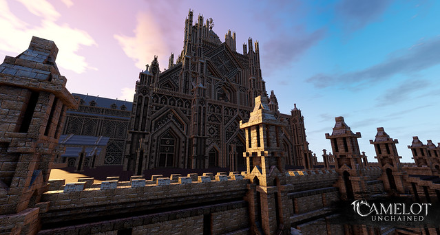 Player made castle, Camelot Unchained MMORPG