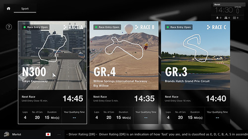 Gran Turismo Sport Beta 1