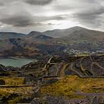 Dinorwig Slate Quarry Panorama